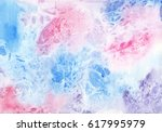 abstract watercolor pastel...   Shutterstock . vector #617995979