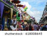 new orleans  louisiana usa  ... | Shutterstock . vector #618008645