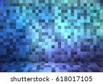 abstract background with small... | Shutterstock .eps vector #618017105