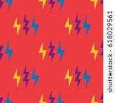 pattern. vector pattern of... | Shutterstock .eps vector #618029561