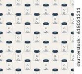 pattern. pattern of piggy banks. | Shutterstock .eps vector #618031211