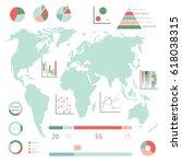 vector business infographics... | Shutterstock .eps vector #618038315