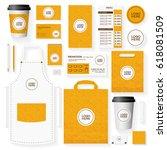 corporate identity template set ...   Shutterstock .eps vector #618081509
