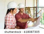 smart foreign investor explain...   Shutterstock . vector #618087305