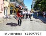 new orleans  louisiana   usa  ...   Shutterstock . vector #618097937