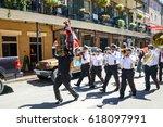 new orleans  louisiana   usa  ... | Shutterstock . vector #618097991