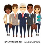 a young group of people in... | Shutterstock .eps vector #618108401