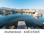 kyrenia  cyprus   march 26 ... | Shutterstock . vector #618115265