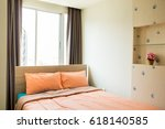 modern room interior | Shutterstock . vector #618140585