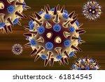 digital illustration of... | Shutterstock . vector #61814545