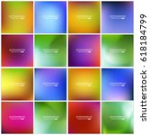 abstract creative concept... | Shutterstock .eps vector #618184799