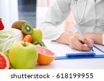 nutritionist doctor writing
