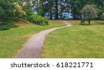 path at porteau cove provincial ... | Shutterstock . vector #618221771