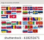 set of national european wave...   Shutterstock .eps vector #618252671