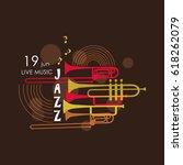 music logo. music festival ... | Shutterstock .eps vector #618262079