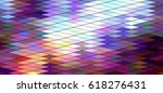 cool tone color rainbow... | Shutterstock . vector #618276431