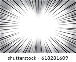 radial lines with substrate of... | Shutterstock .eps vector #618281609
