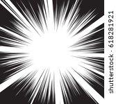 background of radial lines for... | Shutterstock .eps vector #618281921