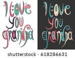 doodle illustration for... | Shutterstock .eps vector #618286631
