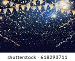 festival background with party... | Shutterstock .eps vector #618293711