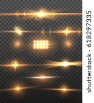 illustration of vector lens... | Shutterstock .eps vector #618297335