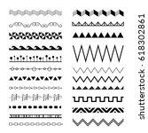 borders set | Shutterstock .eps vector #618302861