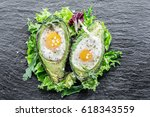 Chicken Egg Baked In Avocado....