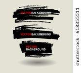 marker texture background... | Shutterstock .eps vector #618355511