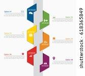 infographic design template... | Shutterstock .eps vector #618365849