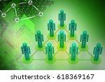 3d illustration ofleadership... | Shutterstock . vector #618369167