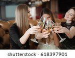 holidays  nightlife ... | Shutterstock . vector #618397901