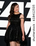 """Small photo of NEW YORK-APR 8: Actress Eden Estrella attends the premiere of """"The Fate of the Furious"""" at Radio City Music Hall on April 8, 2017 in New York City."""