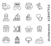 line style black and white... | Shutterstock .eps vector #618447914
