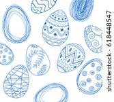 Easter Pattern Eggs