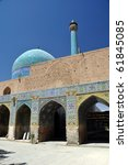 Mosque in Yazd - stock photo