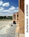 Isfahan bridge - stock photo