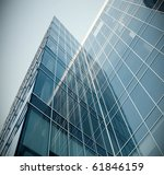 modern glass texture of mansion ... | Shutterstock . vector #61846159