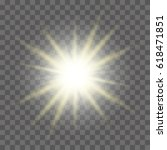 sun with lens flare on plaid... | Shutterstock .eps vector #618471851
