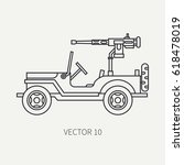 line flat plain vector icon... | Shutterstock .eps vector #618478019