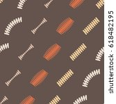 seamless pattern with springs... | Shutterstock .eps vector #618482195