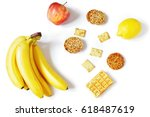 breakfast for a woman. various...