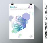 genetics testing science dna... | Shutterstock .eps vector #618488567