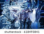 the car engine  engine  car... | Shutterstock . vector #618493841
