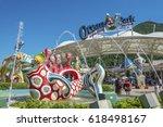 hong kong  china   july 24 ... | Shutterstock . vector #618498167