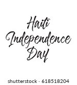 haiti independence day  text... | Shutterstock .eps vector #618518204