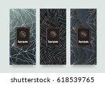 vector set packaging templates... | Shutterstock .eps vector #618539765