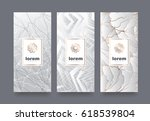 vector set packaging templates... | Shutterstock .eps vector #618539804