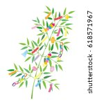 Tanabata Festival Bamboo Grass...
