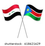 iraqi and south sudanese... | Shutterstock .eps vector #618621629