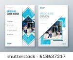 brochure template layout design.... | Shutterstock .eps vector #618637217